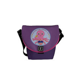 Messenger Bag Octopus For A Preemie US