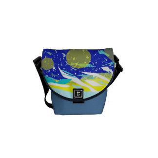 Messenger Bag Size Small Beautiful Marine Theme