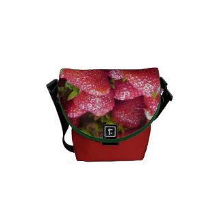 Messenger Bag - Summer Strawberries