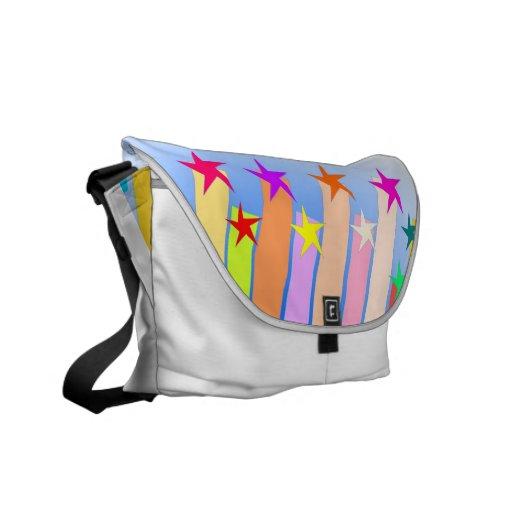 Messenger Bags with shooting stars