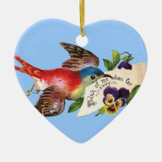Messenger Bird Ornament