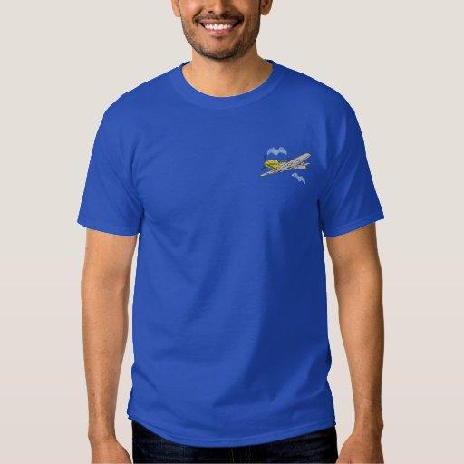 Messerschmitt B F-109 E Embroidered T-Shirt