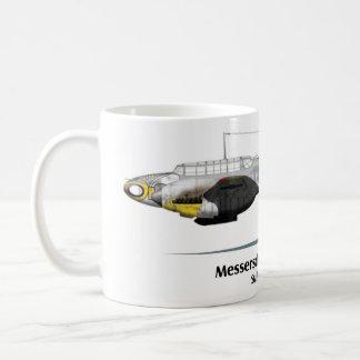 Messerschmitt Bf-110 - Battle of Stalingrado Coffee Mug