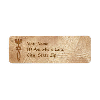 Messianic Seal Aged Return Address Labels