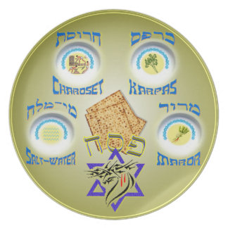 Messianic Seder Plate
