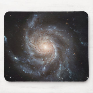 Messier 101 Galaxy Mouse Pad