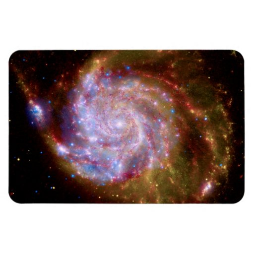 Messier 101 Galaxy Rectangular Magnets
