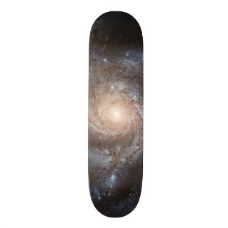 messier 101 ngc 5457 galaxy stars space 21.6 cm skateboard deck