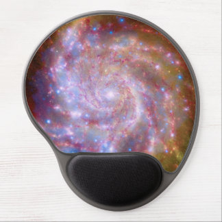 Messier 101 Spiral Galaxy - Hubble Telescope Photo Gel Mouse Pad