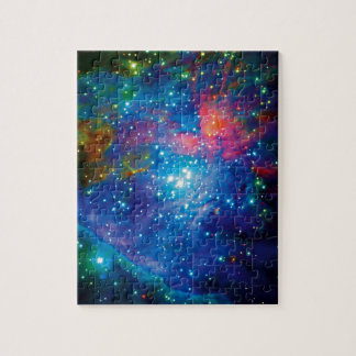 Messier 42 Orion Nebula Infrared ESO Space Photo Jigsaw Puzzle
