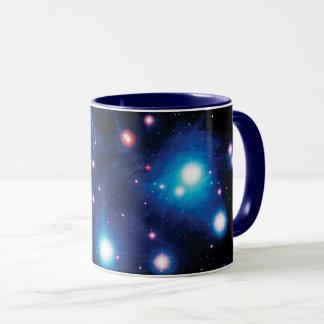 Messier 45 Pleiades Star Cluster NASA Space Photo Mug