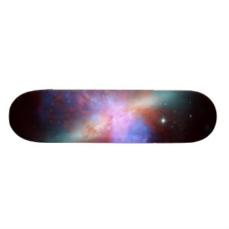 Messier 82 NGC 3034 Cigar Galaxy M82 Composite Custom Skateboard