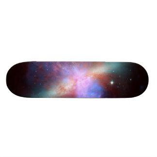 Messier 82 NGC 3034 Cigar Galaxy M82 Composite Custom Skateboard