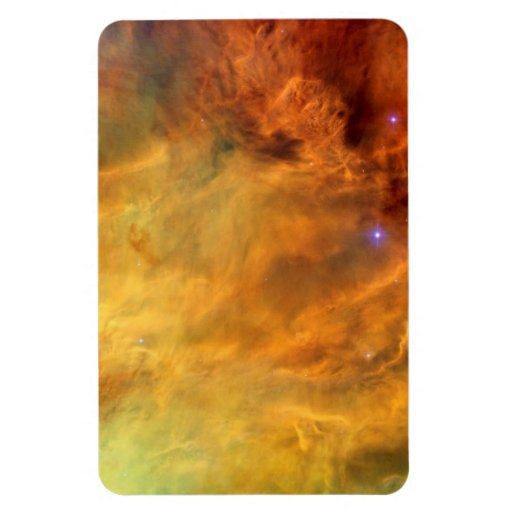 Messier 8 Lagoon Nebula Vinyl Magnets