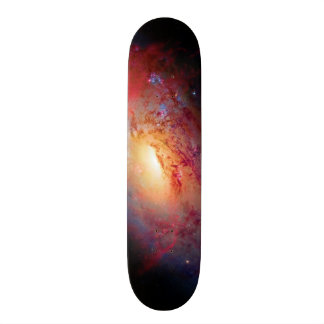 Messier M106 Spiral Galaxy Outer Space Photo Skateboard Decks
