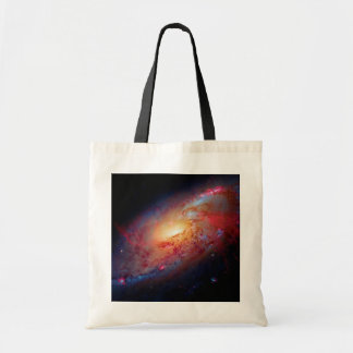 Messier M106 Spiral Galaxy Outer Space Photo Tote Bag
