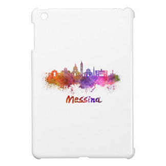 Messina skyline in watercolor cover for the iPad mini