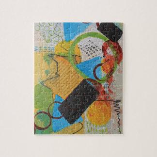 Messy Circles Jigsaw Puzzle