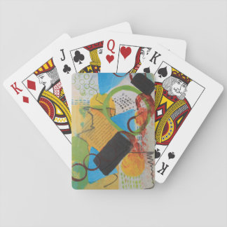 Messy Circles Playing Cards