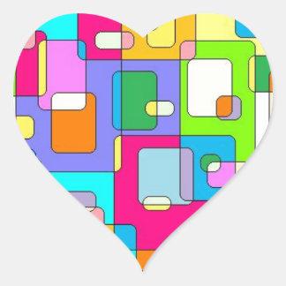 Messy Desks Heart Sticker
