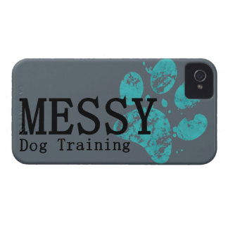MESSY Dog Training Case-Mate iPhone 4 Cases