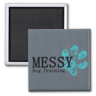MESSY Dog Training Magnet