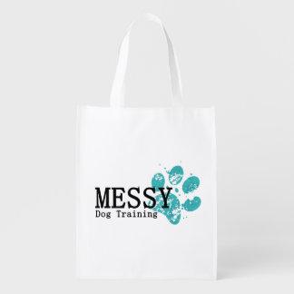 MESSY Dog Training Reusable Shopping Bag