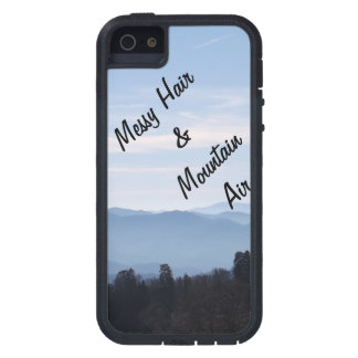 Messy Hair & Mountain Air iPhone 5 Cases