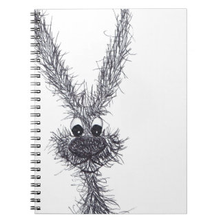 MESSY HARE NOTEBOOK