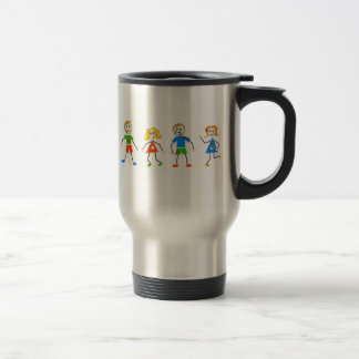 Messy Kids Stainless Steel Travel Mug
