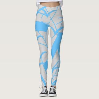 Messy lines leggings