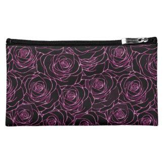Messy Roses Makeup Bag