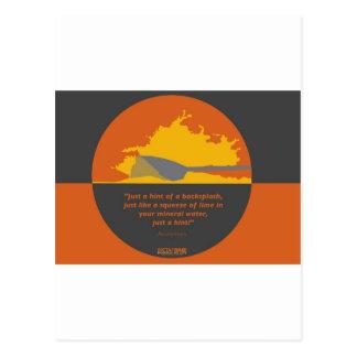Metafoar - Rowing as Life Postcard