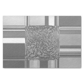 metal art silver 03 tissue paper