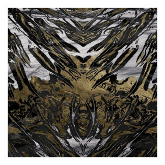 metal art wild poster