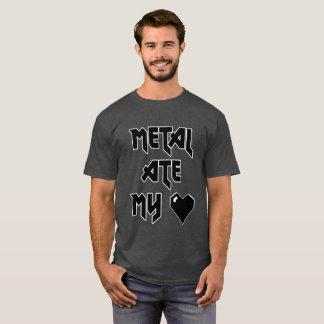 Metal Ate My Heart - Metalhead Shirt