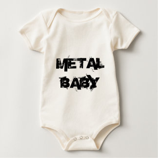 Metal Baby Baby Bodysuit