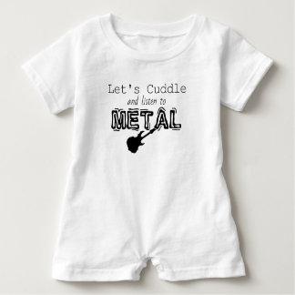 Metal Baby Romper Baby Bodysuit