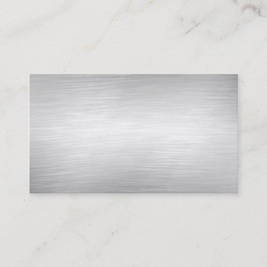 Metal background business cards zazzle metal background business cards colourmoves