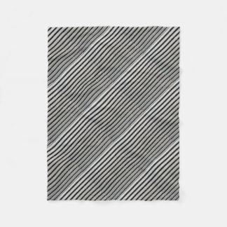 Metal Background Fleece Blanket