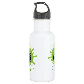 METAL BEVERAGE CANISTER WITH WORK HARD PRINT 532 ML WATER BOTTLE