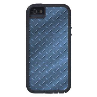 Metal Blue iPhone SE/5/5S Tough Xtreme Case Case For iPhone 5