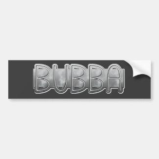 Metal BUBBA - Redneck Bling Bumper Sticker