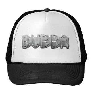 Metal BUBBA - Redneck Bling Trucker Hat