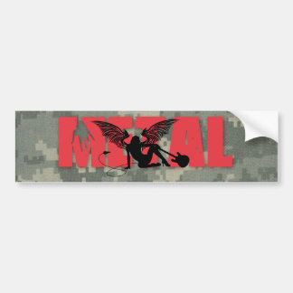 Metal Bumper Sticker