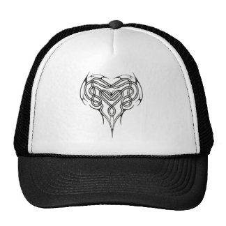 Metal Celtic Heart Knot Trucker Hats