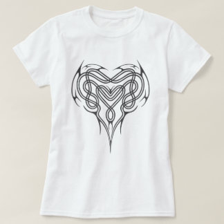 Metal Celtic Heart Knot T-Shirt