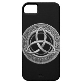 Metal Celtic Trinity Knot iPhone 5 Covers