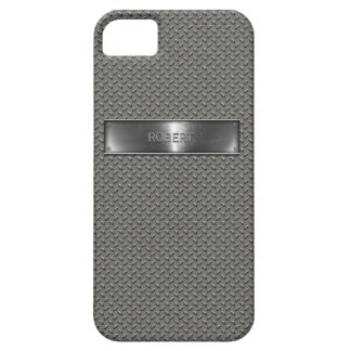 Metal Checkered Plate Look i-Phone 5 case