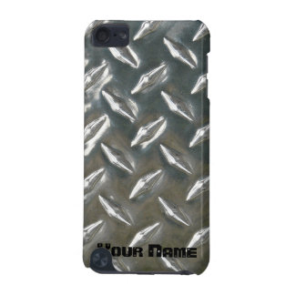 Metal Checkerplate Aluminum iPod Touch (5th Generation) Covers